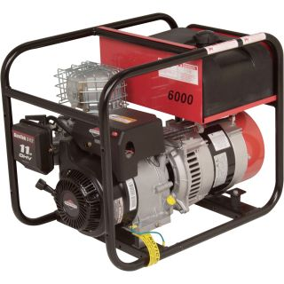 Winco Portable Generator — 6000 Surge Watts, 5400 Rated Watts, CARB-Compliant, Model# DL6000I  Portable Generators