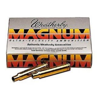 Weatherby Brass Shell Cases 425433