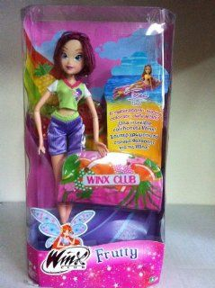 "12"" WINX CLUB ""TEENA"" FRUTTY DOLL WITH INFLATABLE RAFT: Toys & Games"