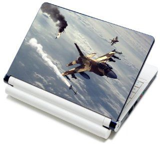 """Meffort Inc� 15 15.6 Inch Laptop Notebook Skin Sticker Cover Art Decal   Fits Laptop Size of 13"""" to 16.5"""" (Included 2 Wrist Pad) (Fighter Jet Missile) Computers & Accessories"""