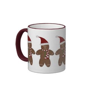 Cute Gingerbread Man Mug