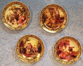 Shop Three Star Porcelain Decorative Wall Plates, Set of 4, Romantic Scenery Motif at the  Home D�cor Store