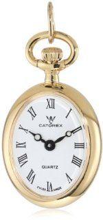 Catorex Women's 570.6.12396.110 Les petites 18k Gold Plated Brass Pendant Watch Watches