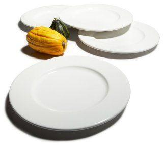 Pinzon 11 Inch White Dinner Plates, Set of 4 (retired) Kitchen & Dining
