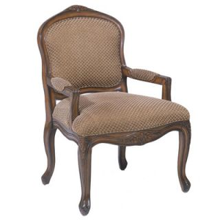 Bernards French Provincial Fabric Arm Chair 7550