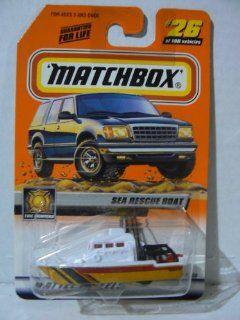 Matchbox 2000 Treasure Hunt Sea Rescue Boat