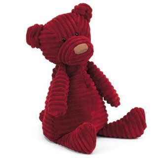 """Jellycat Small Cordy Roy Plush Stuffed Animal Baby Doll Figure Toy Red Bear 10"""" Toys & Games"""
