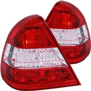 Anzo USA 221157 Mercedes Benz Red/Clear Tail Light Assembly   (Sold in Pairs) Automotive