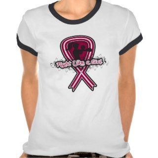 Sickle Cell Anemia Fight Like A Girl   Fighter Rib Tshirt