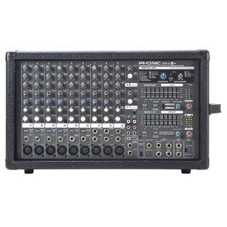Phonic Powerpod 1062 Plus 600W 10 Channel Powered Mixer with DFXr Musical Instruments