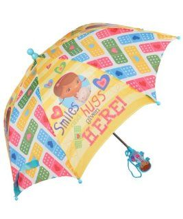 "Licensed Disney Doc McStuffins (Stuffy Dragon)� Umbrella for Kids   21""(L) (Closed) and 26"" Diameter (Open): Toys & Games"