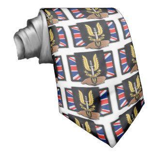 special air service SAS badge son reunion vets Tie