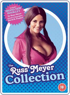 Russ Meyer Collection [19 Uplifting Classics + Russ Meyer Book]      DVD