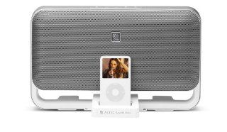Altec Lansing M602 Speaker System for iPod (White)   Players & Accessories