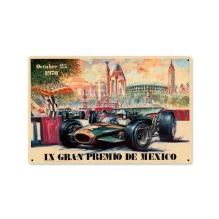 Shop 1970 Mexico Grand Prix Vintage Metal Sign Car Race 18 X 12 Steel Not Tin at the  Home D�cor Store. Find the latest styles with the lowest prices from