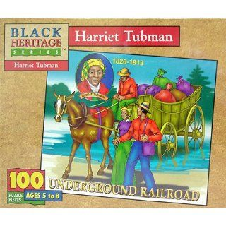 Harriet Tubman Jigsaw Puzzle 100pc Toys & Games