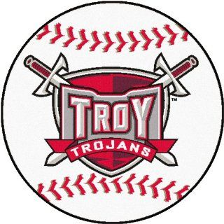 FANMATS NCAA Troy University Trojans Nylon Face Baseball Rug: Automotive