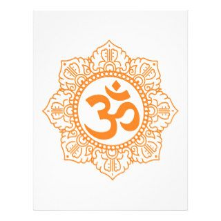 Om   Ohm   Aum Symbol Full Color Flyer
