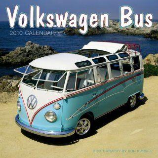 "Volkswagen Bus 2010 Wall Calendar 12"" X 12"""