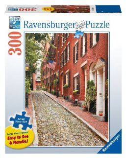 Beacon Hill, Boston 300 Piece Large Format Puzzle Toys & Games