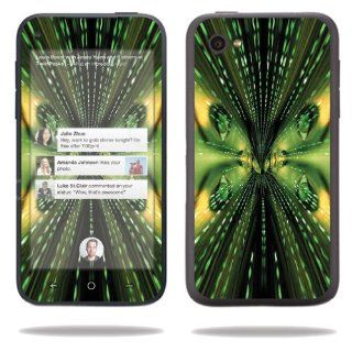 MightySkins Protective Vinyl Skin Decal Cover for HTC First Cell Phone Sticker Skins Matrix: Electronics