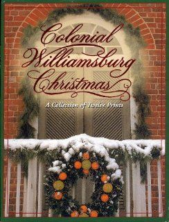 Colonial Williamsburg Christmas A Collection of 12 Prints  Blank Postcards