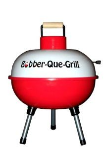 "Charcoal Grill (Camping, Fishing, Tailgating) 14"" Portable Bobber Que Grill: Sports & Outdoors"