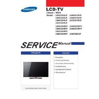Samsung LN55C630K1F/XAA and many more models service manual Samsung Books