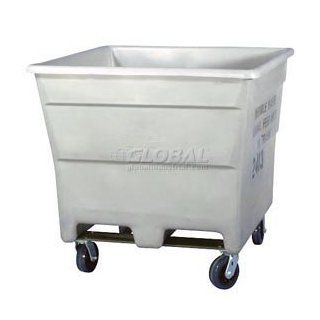 Fda Plastic Storage Container With Casters 43 1/2 X 43 1/2 X 34 1/2   Utility Carts