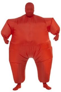 Rubie's Costume Inflatable Full Body Suit Costume, Red, One Size Adult Sized Costumes Clothing