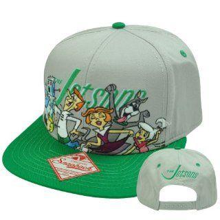 The Jetsons Cartoon Show TV Funny Sitcom Adjustable Snapback Flat Bill Hat Cap  Sports Fan Novelty Headwear  Sports & Outdoors