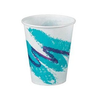 Solo Wax Coated Paper Cold Cups, 7 oz, Jazz� Design (670 R7N J8000) Category Paper Cups Health & Personal Care