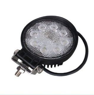 Ipuled New High quality package of 2 LED Work Light Lamp Off Road High Power ATV Jeep 4x4 Tractor 24W 60 Degree Flood Light   Led Household Light Bulbs