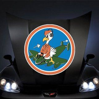 "Air Force USAF USAAF 701st Bomb Squadron 445th Bomb Group 8th Air Force SSI 20"" Huge Decal Sticker: Automotive"