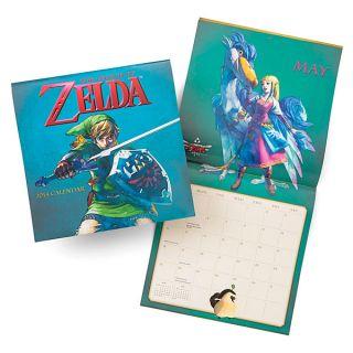 Legend of Zelda Wall Calendar