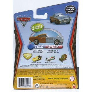 Disney / Pixar CARS 2 Movie 155 Exclusive Color Changers Finn McMissile Toys & Games
