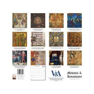 Medieval & Renaissance 2010 Wall Calendar 9781847864093 Books