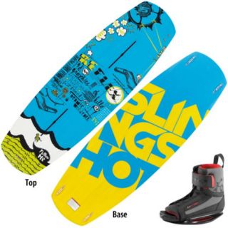 Slingshot Reflex Wakeboard With Option Bindings 98970