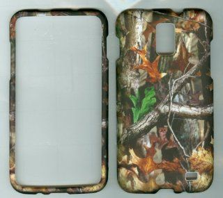 (At&t) Samsung Galaxy S Ii 2 Sii Skyrocket Sgh i727 4g Lte Faceplate Hard Protector Case Cover Camo Mossy Oak Tree Advanatage Tree: Cell Phones & Accessories