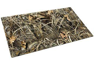 Drymate Large Dog Bowl Place Mat with Paw Imprint Design, 16 Inch by 28 Inch, Realtree : Pet Feeding And Watering Supplies : Pet Supplies