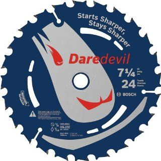 Bosch DCB724 Daredevil 7 1/4 Inch 24 Tooth Framing Ripping Circular Saw Blade