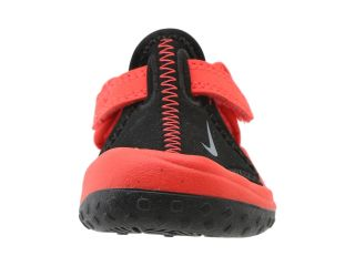 Nike Kids Sunray Protect (Infant/Toddler) Black/Light Crimson/Cool Grey