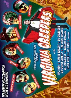 Virginia Creepers: The Horror Host Tradition of the Old Dominion: Count Gore De Vol, The Bowman Body, Dr. Madblood, Mr. Lobo, The Keeper, Dr. Gruesome, Ronald The Ghoul, Sir Graves Ghastly, Sean Kotz, Chris Valluzzo: Movies & TV