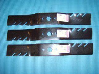 3 Gator 3 In 1 Mulching blades to replace MTD, Cub Cadet 742 04053A, 742 4053B, 742 04123. (Set of 3) : Lawn Mower Blades : Patio, Lawn & Garden