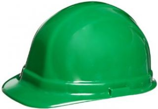 US Safety U00756260R 756 Series Hard Hat with 6 Point Ratchet Suspension, Green Industrial & Scientific