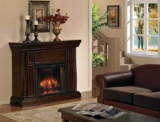 """Classic Flame 28WM811RWN 0504/28EF024GRS   28"""" Williamsburg Electric Fireplace in Walnut   Home Decor Products"""