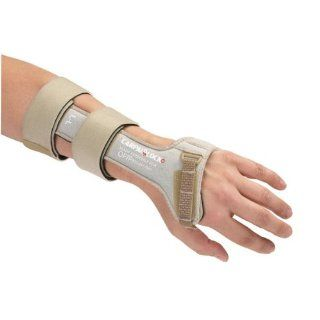OPTP 773 Carpal Lock Wrist Splint   Right Medium Non Returnable: Health & Personal Care