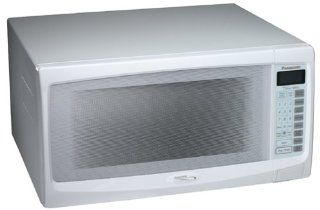 Panasonic NN S762WF 1.6 Cu. Ft., 1300 Watt Microwave, White: Kitchen & Dining