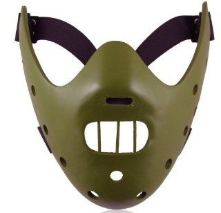 The Silence of the Lambs Movie Hannibal Lecter Army Green Resin Mask Collectable Toys & Games