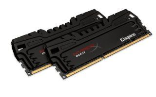 Kingston HyperX Beast 16 GB Kit (2x8 GB) 1600MHz DDR3 PC3 12800 Non ECC CL9 DIMM XMP Desktop Memory KHX16C9T3K2/16X: Computers & Accessories